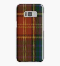 00352 Roscommon County District Tartan  Samsung Galaxy Case/Skin