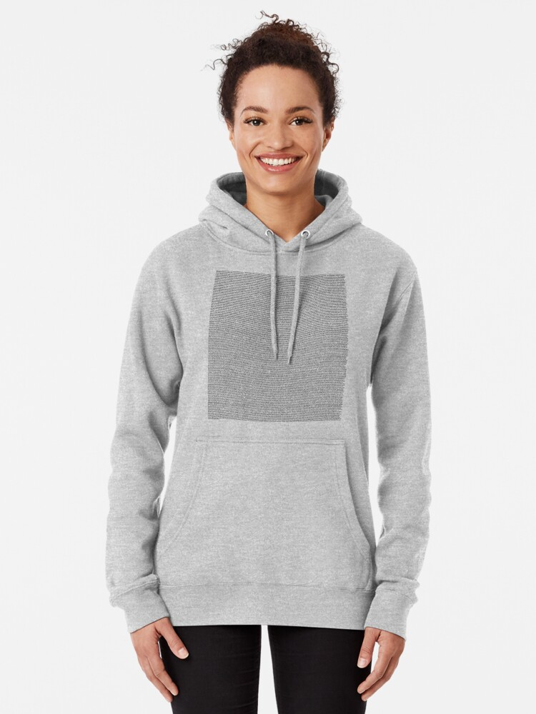 Alternate view of the entire bee movie script Pullover Hoodie