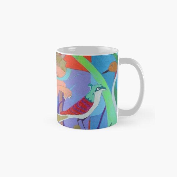 Seven of Flowering Hearts Classic Mug