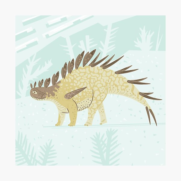 Kentrosaurus Photographic Print