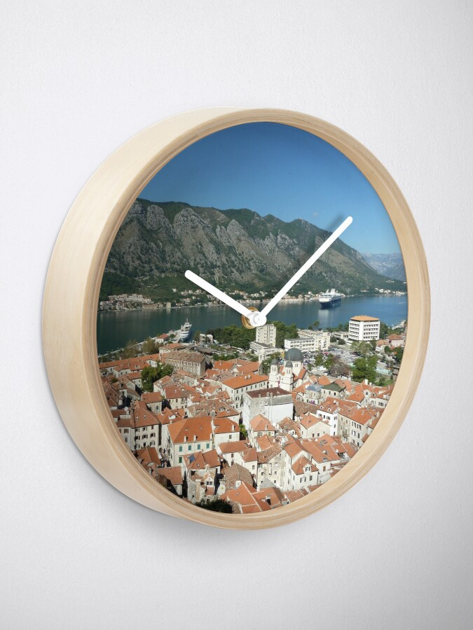 Alternate view of Kotor Montenegro Clock