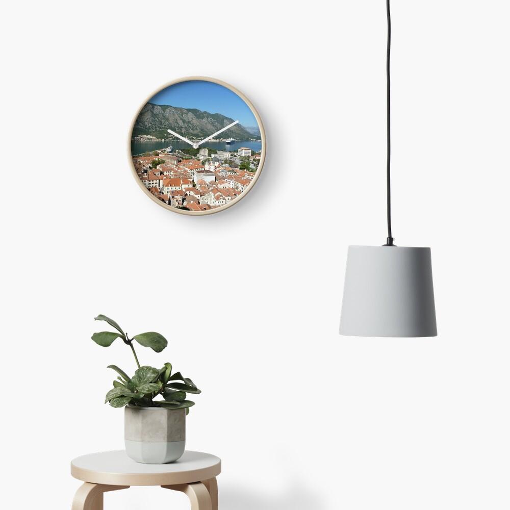 Kotor Montenegro Clock