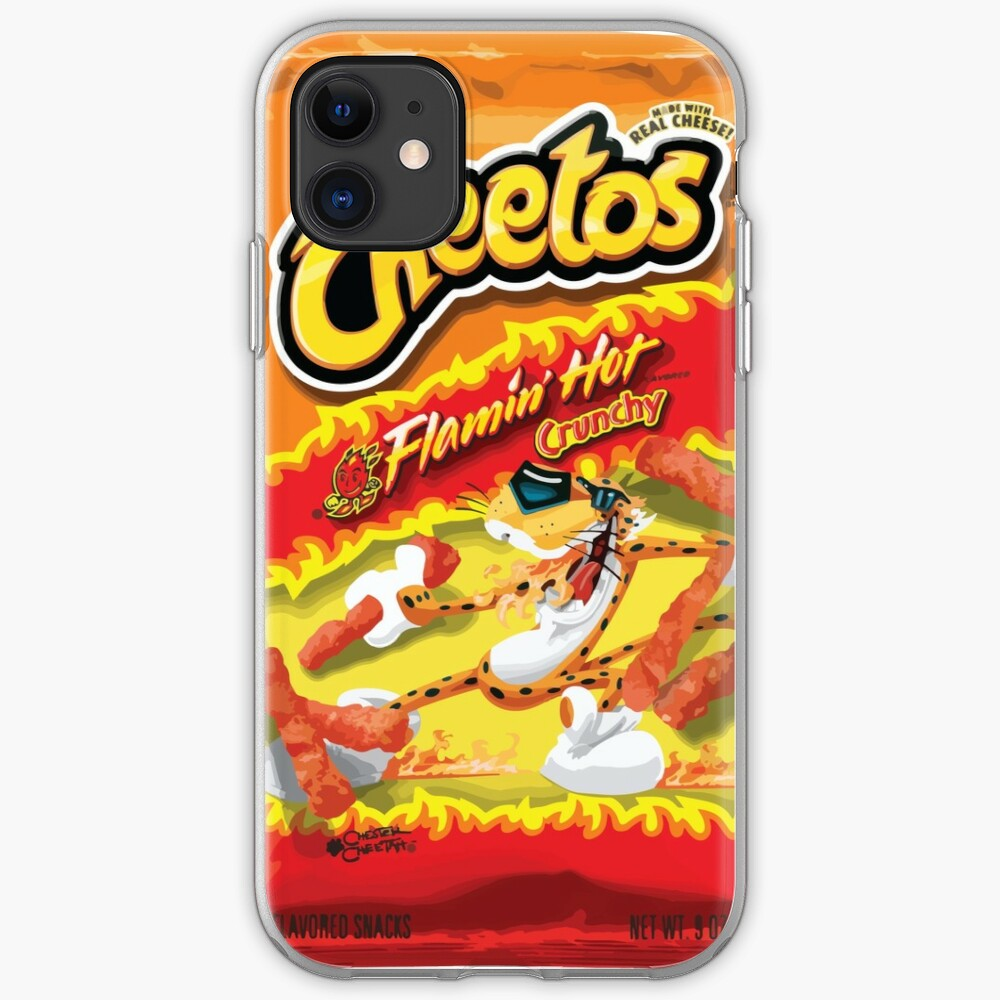 hot cheetos iPhone Case & Cover