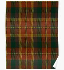 00347 Monaghan County District Tartan Poster