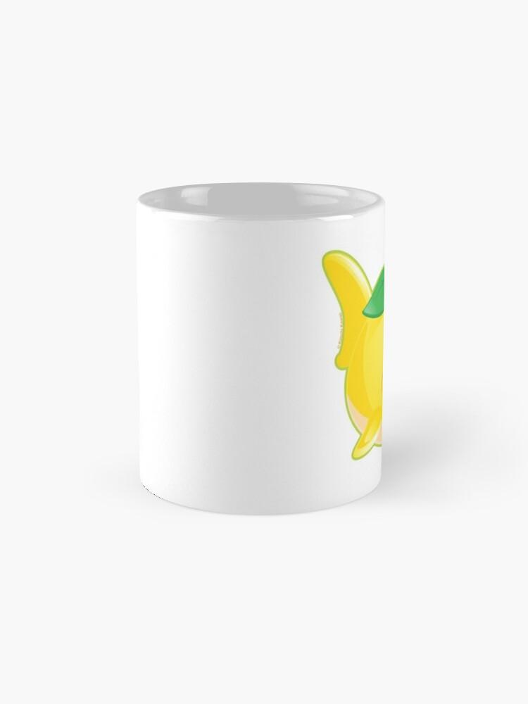 Alternate view of Cute Pun Lemon Shark Mug