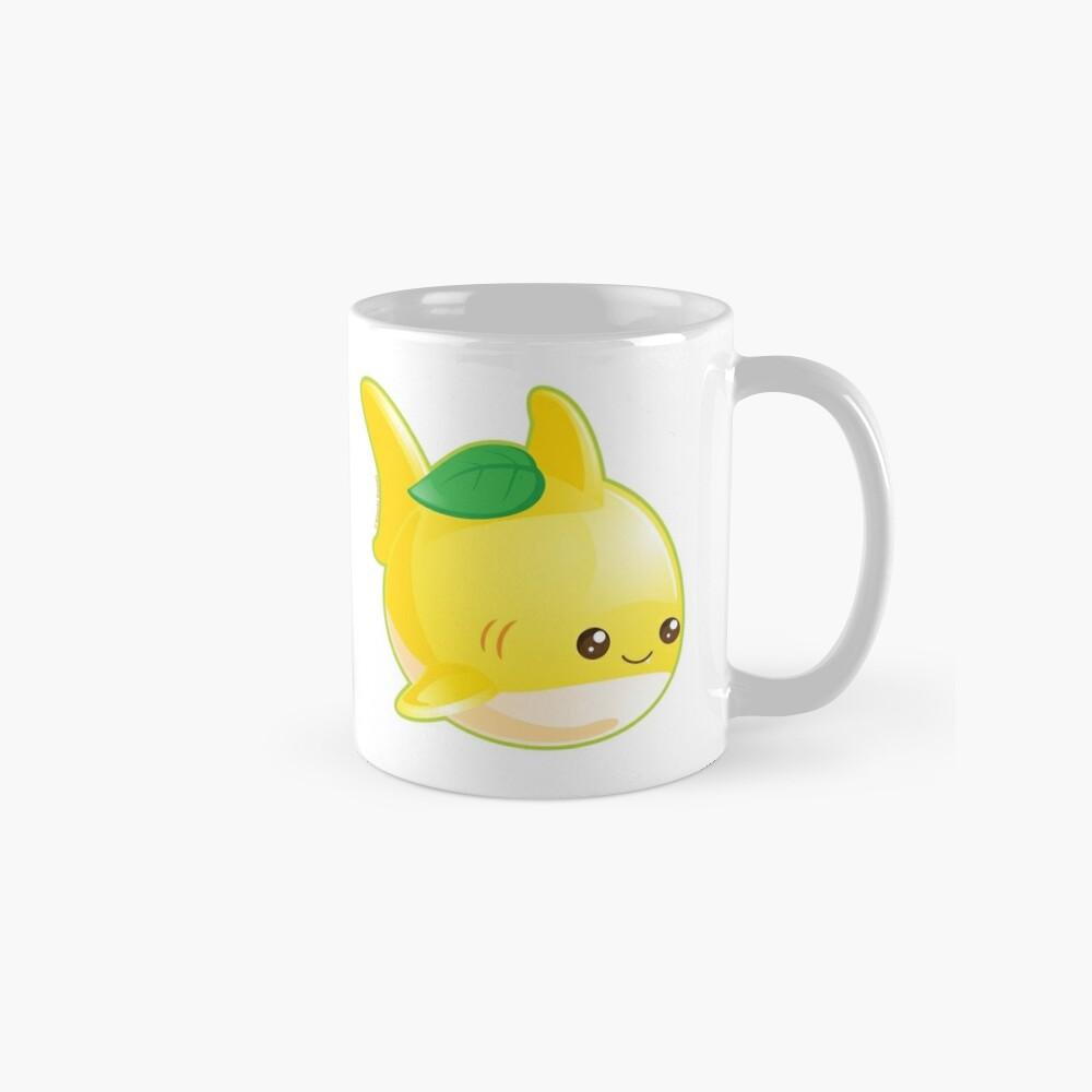 Cute Pun Lemon Shark Mug
