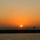 Sunset, Oceanside, CA by rmenaker