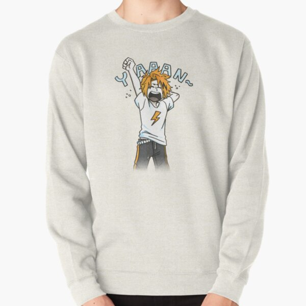 Yawning Kaminari Pullover Sweatshirt