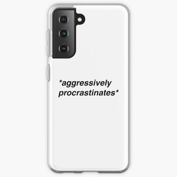 *aggressively procrastinates* Samsung Galaxy Soft Case