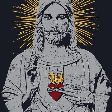 Jesus Christ by ramanandr