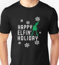 all haapy holiday Unisex T-Shirt