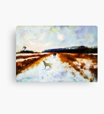 Broadland walk  Canvas Print