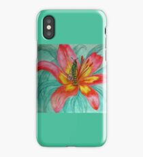 Tropical Green Bee Fairy  iPhone Case/Skin