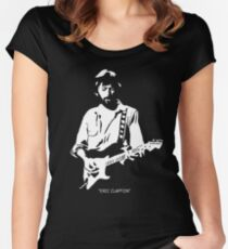 eric clapton - With arms, legs, lips close clinging to embrace,  Women's Fitted Scoop T-Shirt