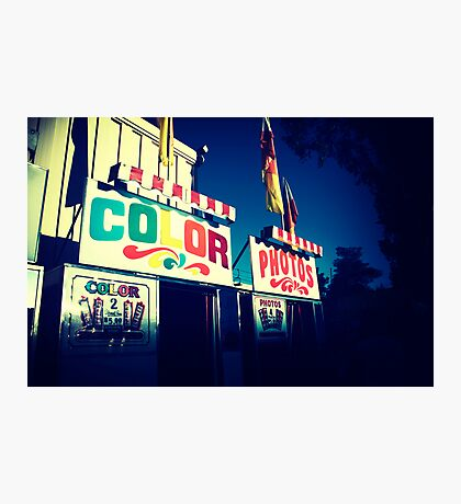 Color Photos Photographic Print