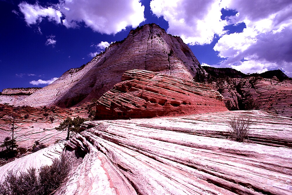 The lines at Zion by steveberlin