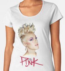 PINK BEAUTIFUL TRAUMA Women's Premium T-Shirt