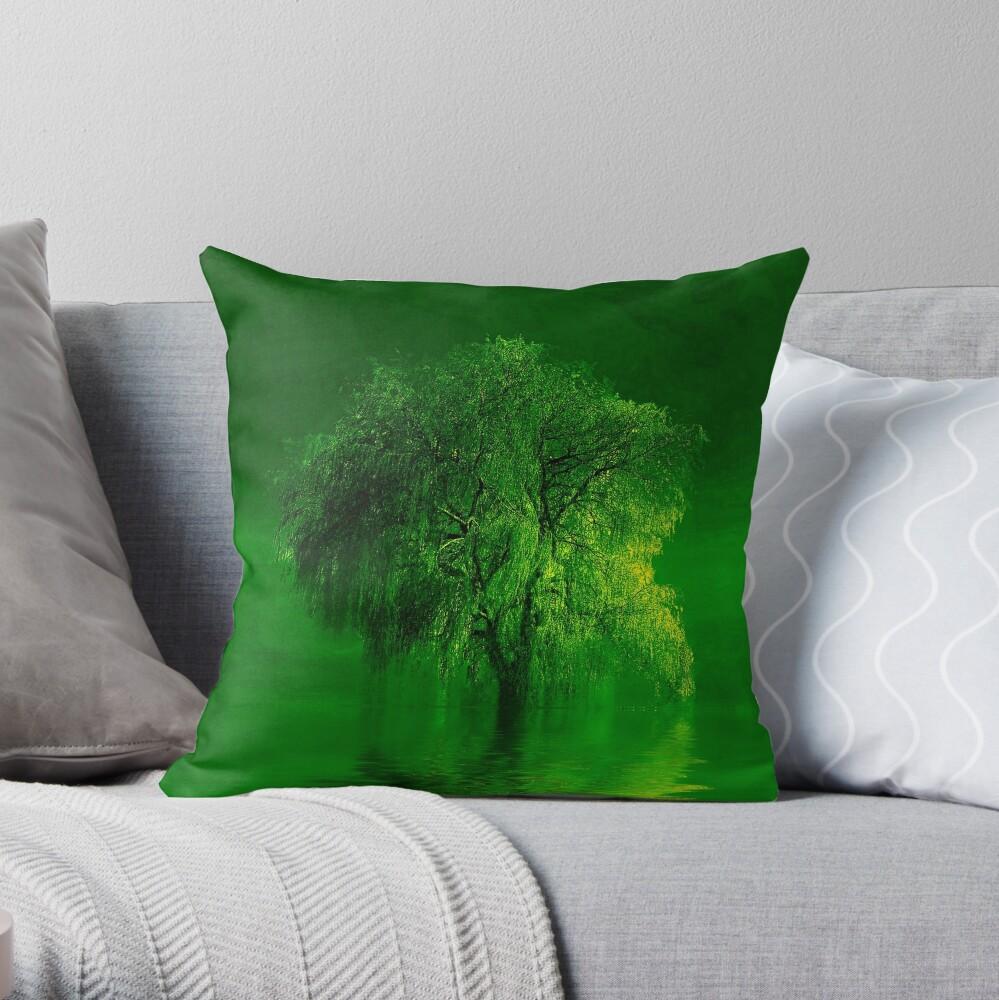 Terre verde  Throw Pillow