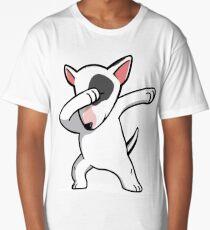 Funny Dabbing English Bull Terrier Long T-Shirt