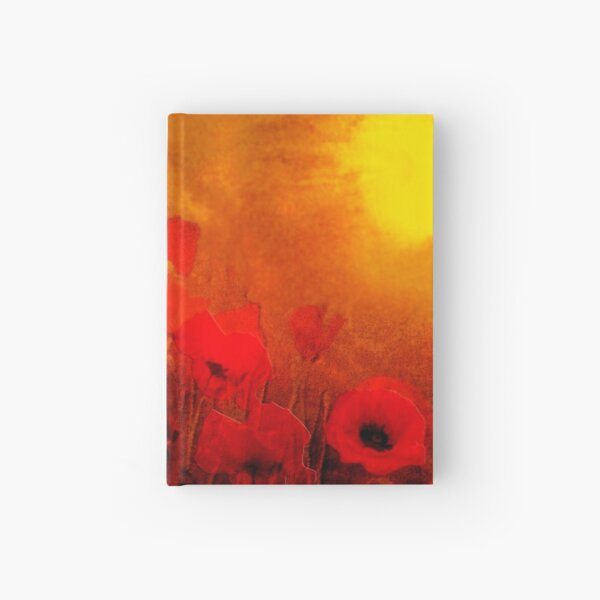 Poppy heaven  Hardcover Journal