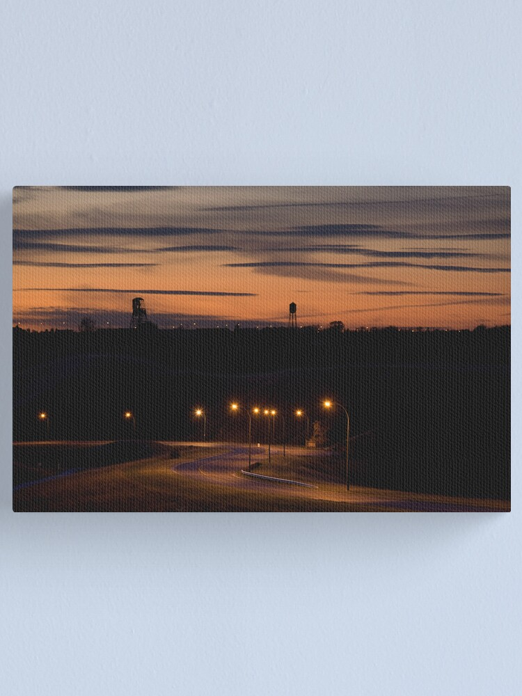 Alternate view of Coulees Canvas Print