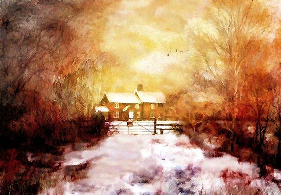 Ye olde Inn  by Valerie Anne Kelly