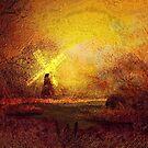 Ye olde Mill  by Valerie Anne Kelly