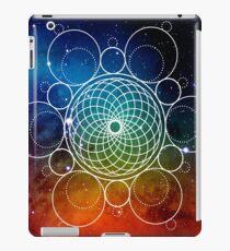 HEXA-TORUS SACRED INTERSTELLAR GEOMETRY - FOR INTELLIGENT, SCIENCE AND MYSTICISM DEVOTEES LIKE YOURSELF iPad Case/Skin