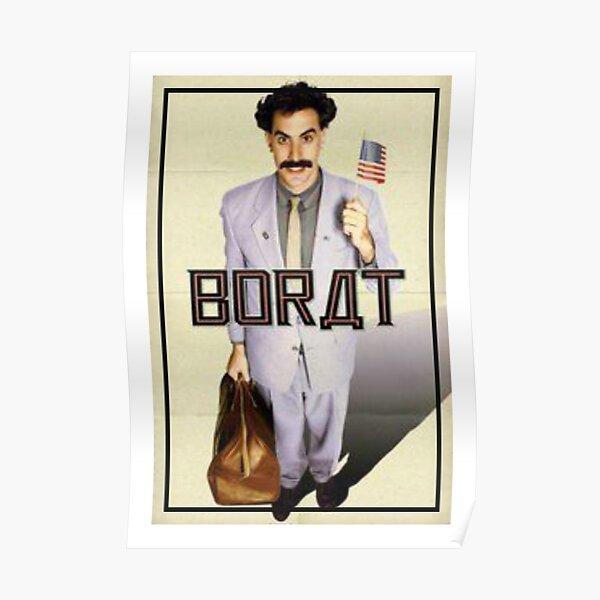 borat - very nice smile Poster