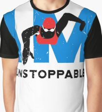 Womens swimming IM unstoppable  Graphic T-Shirt