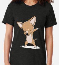 Lustige Tupfer Chihuahua Vintage T-Shirt
