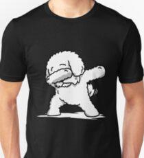 Funny Dabbing Bichon Frise Unisex T-Shirt