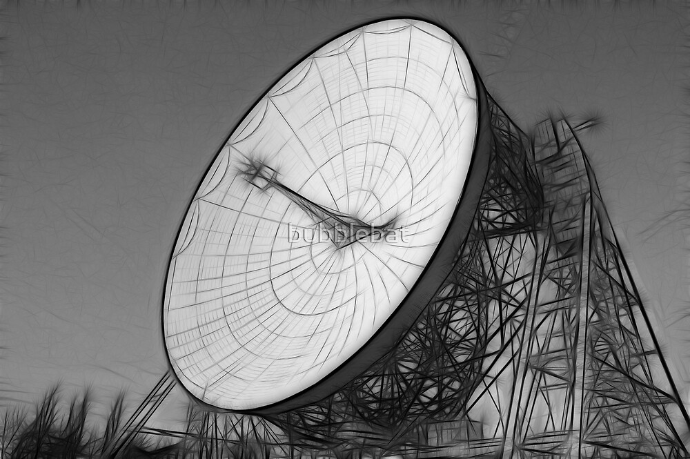 Fractalius Lovell Telescope at Jodrell Bank by bubblebat