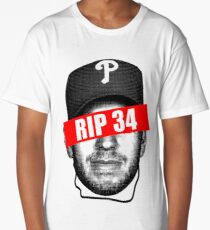 Roy Halladay Legendary Pitcher Long T-Shirt