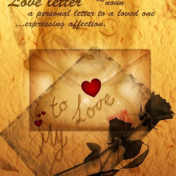 Love letter  by valzart