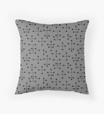 Midcentury Modern Dots 111 Throw Pillow