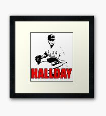 Young winner Roy Halladay Framed Print