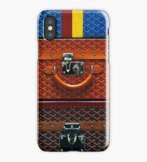 Wallet Goyard Collage iPhone Case/Skin