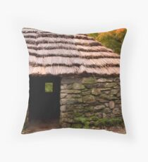 The Lone Shieling Throw Pillow