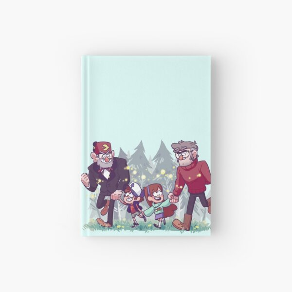 A Walk through the Woods Hardcover Journal
