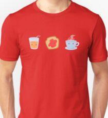 cute breakfast Slim Fit T-Shirt