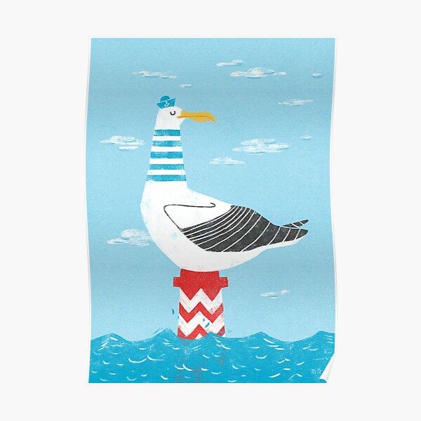 Seagull albatross Poster