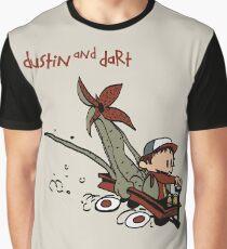 Dustin And Dart Stranger Things 2 Graphic T-Shirt