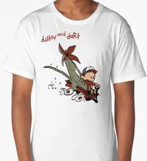 Dustin And Dart Stranger Things 2 Long T-Shirt