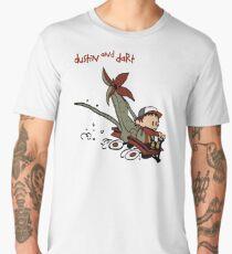 Dustin And Dart Stranger Things 2 Men's Premium T-Shirt