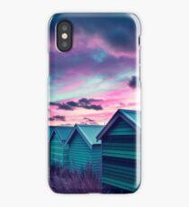 Brighton Beach Sunset iPhone Case
