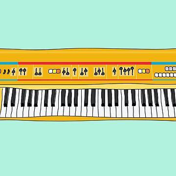 Roland Juno inspired synth by bubivisualarts