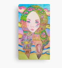 goddess fae Canvas Print