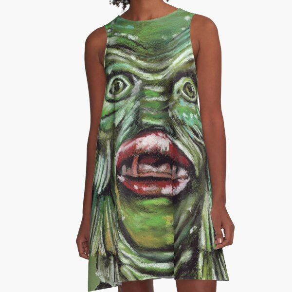 The Creature from the Black Lagoon A-Line Dress