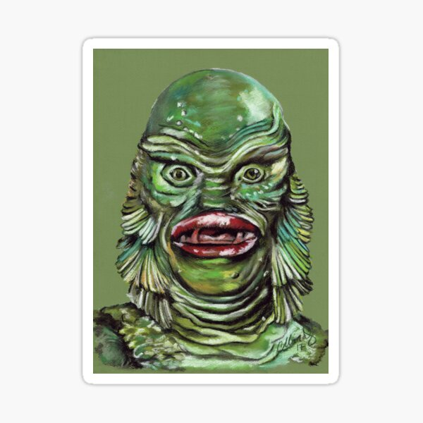 The Creature from the Black Lagoon Sticker